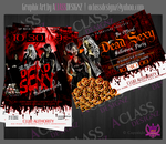 Halloween Flyer by aCLASSdesignz