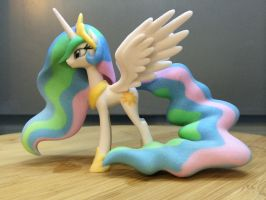 Princess Celestia 100mm Left by Lil3DPrinting