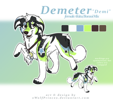 Demeter by xWolfPrincex