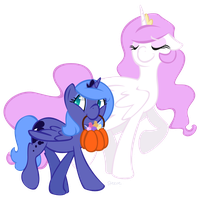 MLP: Halloween Luna by TheKnysh
