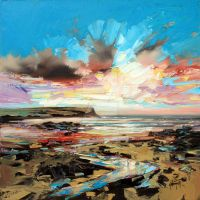 Beach At Loch Brittle by NaismithArt