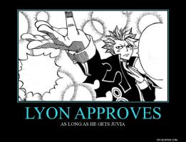 Lyon Approves.... by Shikalein