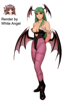 CVS1 Morrigan Render by WhiteAngel50000