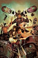 MARVEL ZOMBIES DESTROY! 1 by deadlymike