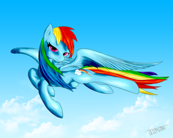 Rainbow Dash by Ultimiant