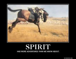 Spirit Motivational Poster by Grizzled-Dog