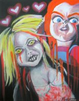 The Love of Chucky by SlimyboyDave