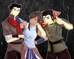 Team Avatar - Legend of Korra by flysp