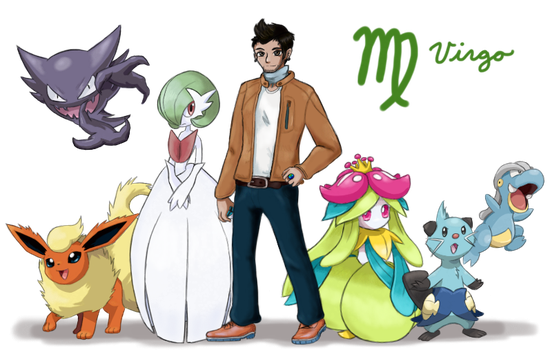Pokemon Trainer Virgilio (Virgo) by Call-Of-The-Indie