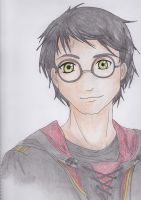 Harry Potter by MorikoW