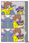 TMNT Short Comic: Hug by SootToon