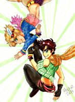 BATTLE TENDENCY by DeeTsukino