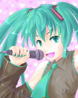 Popstar Miku by Pluffers