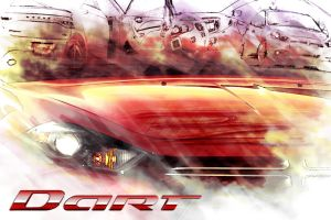 Dodge Dart Inspired Contest Art Submission 1 by DavidLau82
