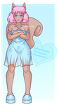 Adoptable - Summer Squirrel [OPEN] by Illusion-Noire