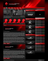 Exorsus Gaming Website by zblowfish