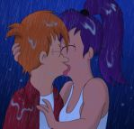 Kissing In The Rain by MegBeth
