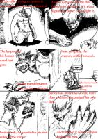 Kyle Hyde Werewolf comic page 10 by wolfmarian