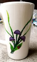 Hand-Painted Cup 2 by BeeBeeBeee