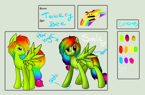 Tabery Bee SIMPLE Reference Sheet 2014 by Pinipy