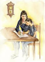 Homeworks together by cabepfir