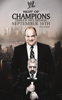 Night of Champions- 3H and Paul Heyman by fraH2014