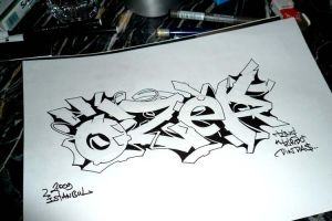 Quick sketch for Ozer by Turbo by Turbo-S2K