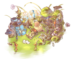 Olimar funeral by Sony-Shock
