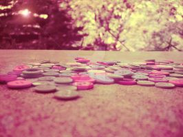 Scattered Buttons by teresastreasures72
