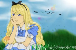 Alice In Wonderland: Alice by babyb345