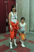 Portal 2 Chell Cosplay by unholykitty