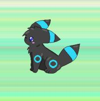 My First Umbreon by xEeveeLover