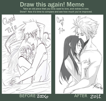 Before and After MEME by Foxysuji