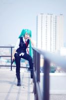Vocaloid Mafia: Miku by AdoboRamen