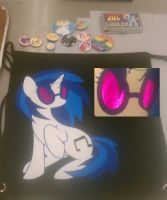 Vinyl Scratch Bag by Rosaha12