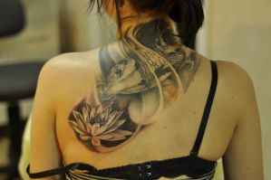 lotus_2 by vangoghtattoo