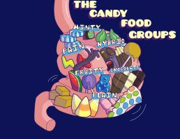 Candy Food Groups V1 by gyroc1