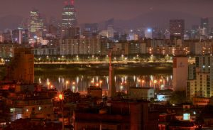 Seoul by Night by aMoniker