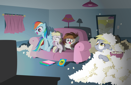 Derpy Couchpotatoes by Trotsworth