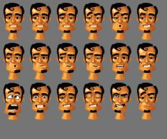Quenton facial animation by Emme73
