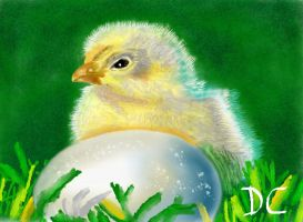 Mypaint Chick by David-c2011