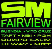 SM Fairview Signboard by tonyrom