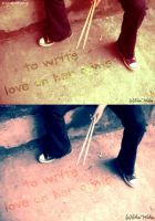 To Write Love On Her Arms by tranquillyagitated
