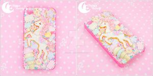 Sugary Carnival Iphone case by CuteMoonbunny