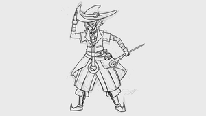 Daily Doodles #169 - Warlock by Mr-Sage