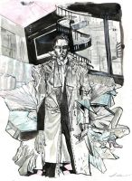 patrick bateman by saprophilous