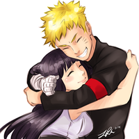 NaruHina Together at last by BlackOtakuZ