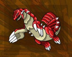 Groudon by Quisum