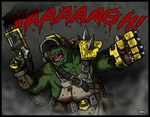 Big Mek Wrekkfist by Blazbaros