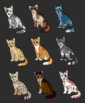 Adopts 4-12 (OPEN) by Dawn-RaiderAdopts999